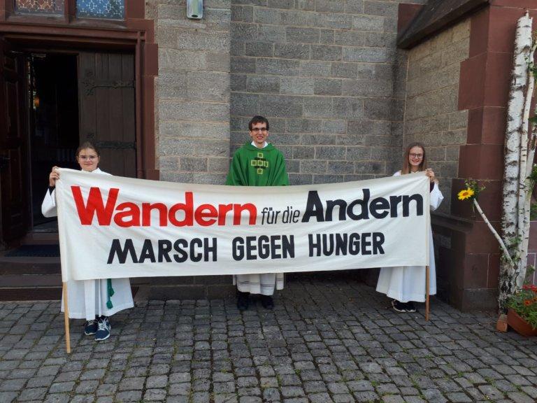 Banner des Hungermarsch